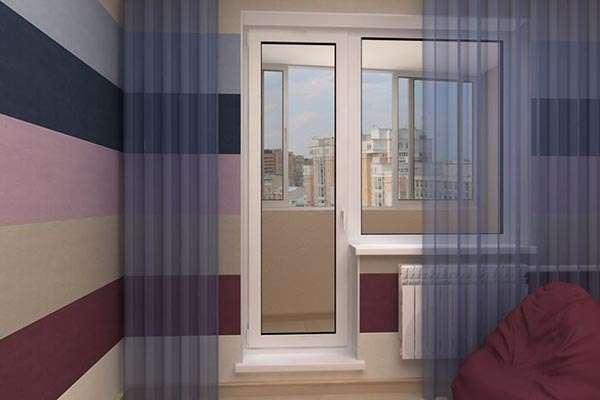 балконная дверь из пвх