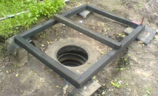 выгребная яма на даче