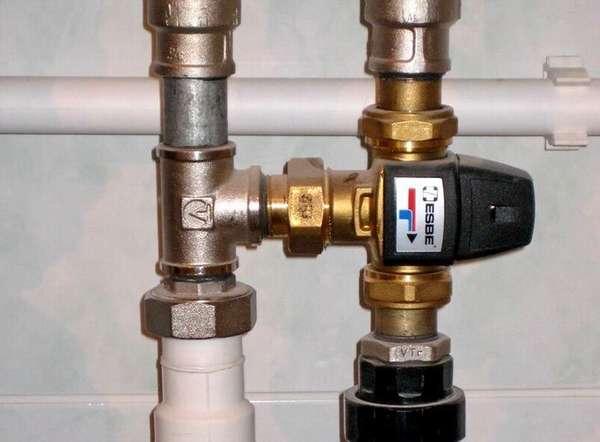 С помощью смесителя можно поддерживать комфортный микроклимат