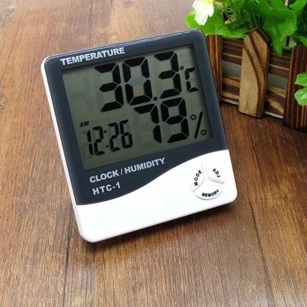 Электронныйприбор для определения влажности воздухаотличается удобством, информативностью, другими преимуществами