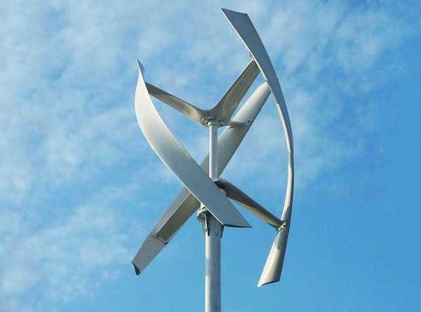 Ветряные генераторы хороши для степей или гористых склонов