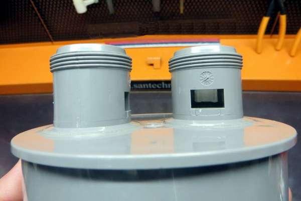 Вакуумный клапан для канализационной системы: назначение, устройство, правила установки
