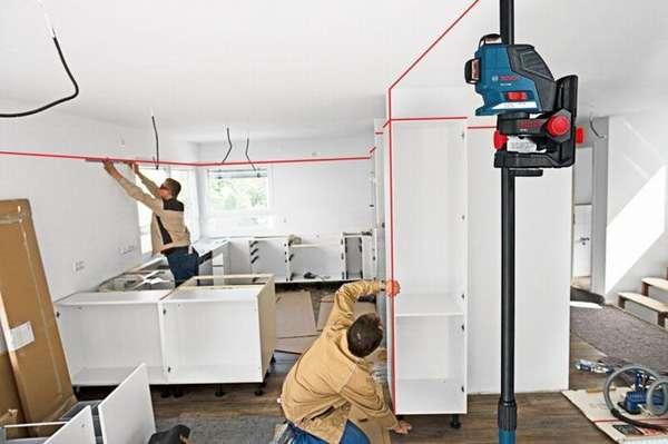 Иногда очень нужно измерить уровень на определенной высоте. Лазерные нивелиры нового поколения помогут сделать это без особых усилий.