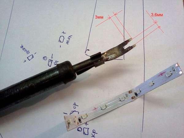 Для демонтажа и последующей установки применяют специальные насадки на паяльник