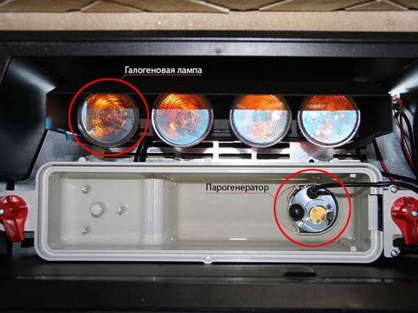Как сделать искусственный огонь при помощи парогенератора