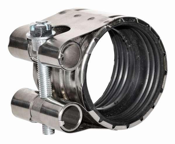 Какие бывают металлические обжимные хомуты: соединяем и ремонтируем трубы по науке