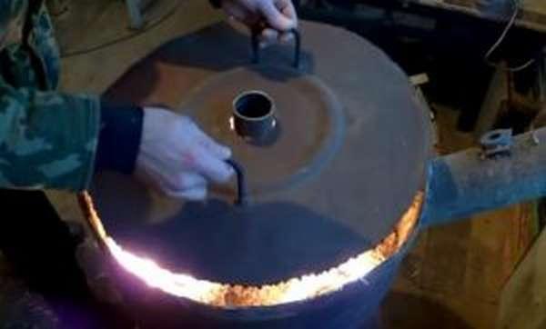 Печь длительного горения для теплицы своими руками