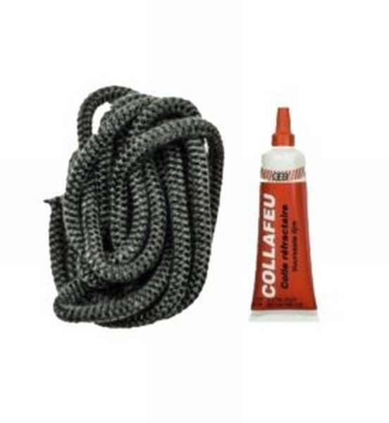 Назначение и виды уплотнительных шнуров для печей