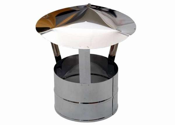 Стандартный крышный зонтик из оцинкованной стали