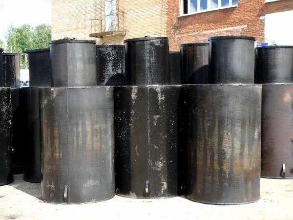 Металлические емкости для скважины