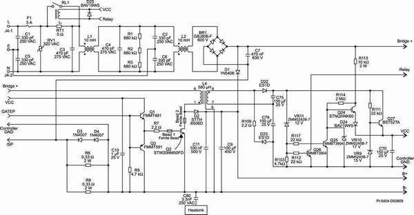 Это уже схема контроллера – собрать его без знаний радиоэлектроники вряд ли получится