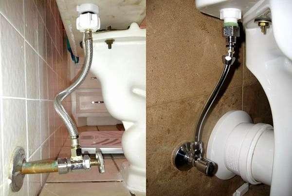 Варианты подключения сливного бачка к водопроводу